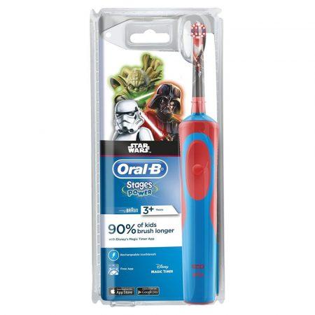 Braun Oral-B A P 900 gyerek elektromos fogkefe (D12513K) Star Wars