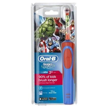Braun Oral-B A P 900 gyerek elektromos fogkefe (D12513K) Avengers