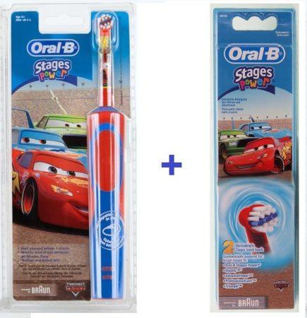 Braun Oral-B Advance Power 900 Kids gyerek elektromos fogkefe  (D12513) verdás csomag