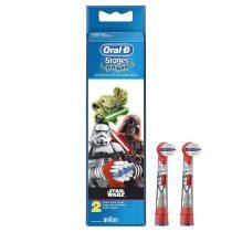 Braun Oral-B EB 10-2 Kids Electro elektromos pótkefe gyerek STAR WARS 2 db-os