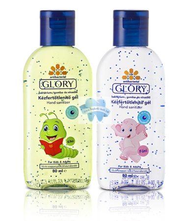 Glory Kids kézfertőtlenítő gél 80 ml