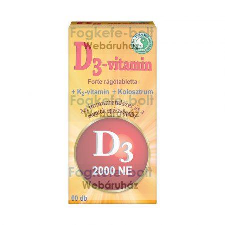 D3-vitamin Forte / D-vitamin rágótabletta /  (60db)