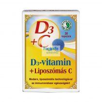 Dr.Chen D3-MAX Liposzómás C-vitamin kapcszula - 30db