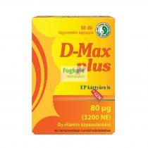 Dr. Chen D-Max Plus D3-vitamin (3200NE) kapszula 60db