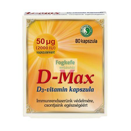 Dr. Chen D-max D3-vitamin kapszula - 80 db