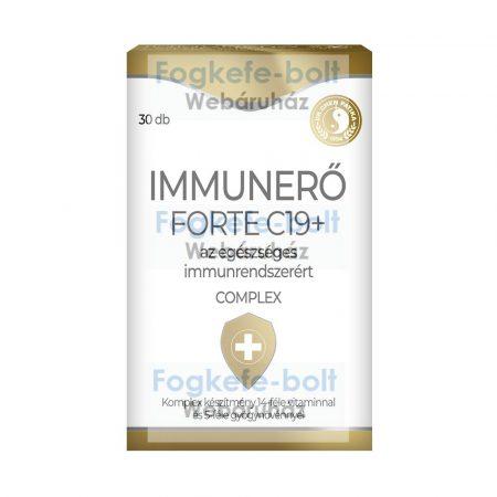 Dr.Chen Immunerő Forte C19+ tabletta  (30db)