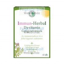 Dr. Chen IMMUN-HERBAL + D3-vitamin kapszula (60db)