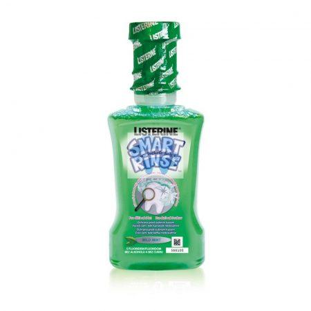Listerine Smart Rinse Mild mint gyermek szájvíz 250 ml