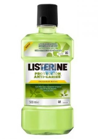 Listerine Anti Caries zöld tea szájvíz 500 ml
