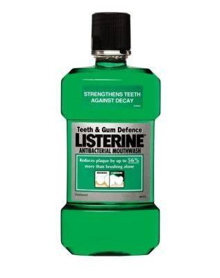 Listerine Teeth & Gum Defence fog és ínyápoló szájvíz 250 ml