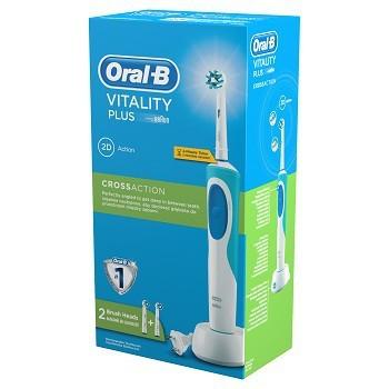 Braun Oral-B Vitality Plus 2DAction  elektromos fogkefe 2db pótkefével (D12.523) + ajándék
