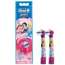 Braun Oral-B EB 10-2 Kids Electro elektromos pótkefe gyerek DISNEY HERCEGNŐS 2 db-os