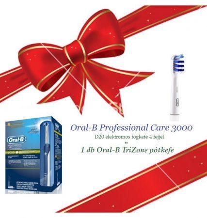 Oral-B Professional Care 3000 Karácsonyi csomag