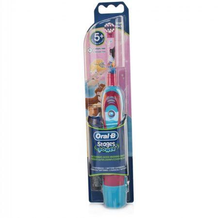 Oral-B Stages Power (DB4510K) gyermek elemes fogkefe Princess