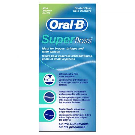 Oral-B Superfloss fogselyem