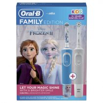 Oral-B Vitality Frozen II + Vitality Sensi Ultra Thin elektromos fogkefe