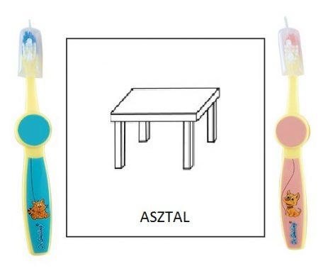 Ovis fogkefe: ASZTAL