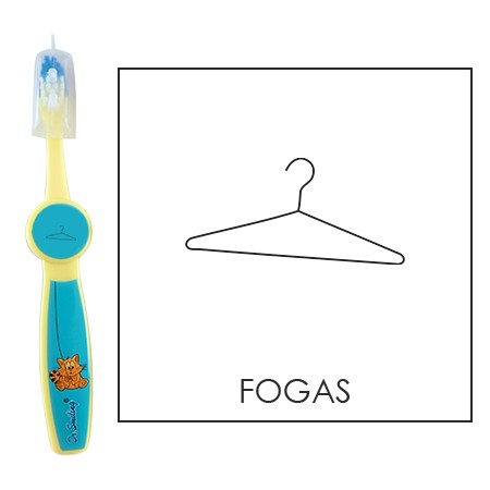 Ovis fogkefe: FOGAS - kék