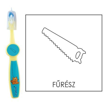 Ovis fogkefe: FŰRÉSZ - kék