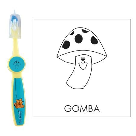 Ovis fogkefe: GOMBA - kék