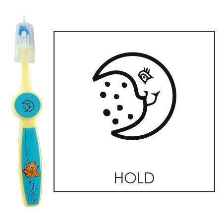 Ovis fogkefe: HOLD - kék