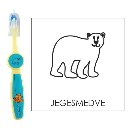 Ovis fogkefe: JEGESMEDVE - kék