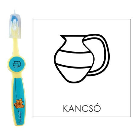 Ovis fogkefe: KANCSÓ - kék
