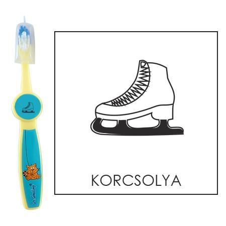 Ovis fogkefe: KORCSOLYA - kék