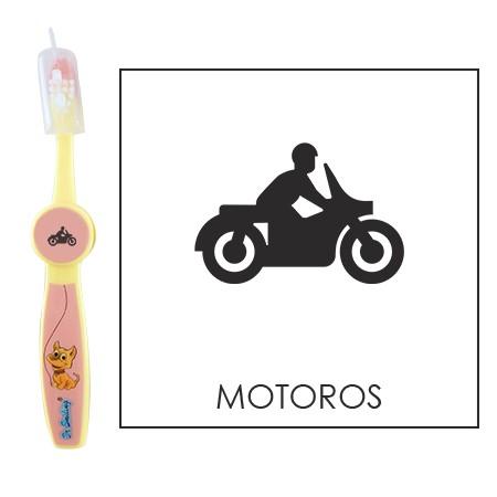 Ovis fogkefe: MOTOROS- rózsaszín