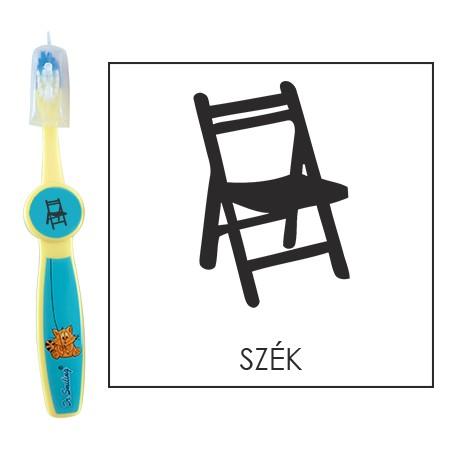 Ovis fogkefe: SZÉK - kék