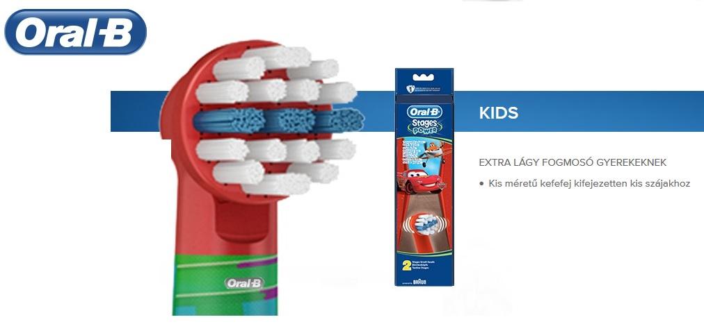 Oral-B kids gyerek pótkefe